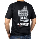 K-Power T-Shirt (Black, 2X-Large)