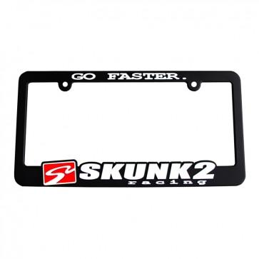 Go Faster License Plate Frame