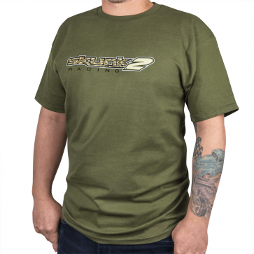 Camo T-Shirt Large Military Green