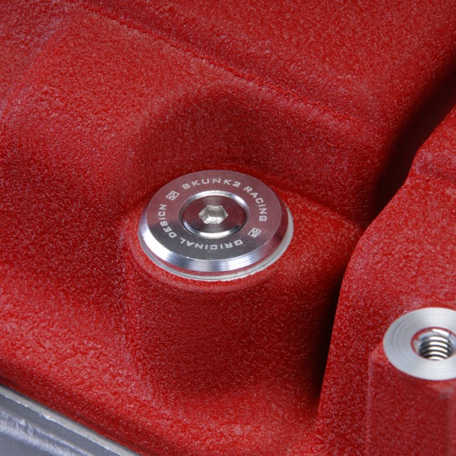 brand new red color Aluminum Spark Plug Cover fit B-Series Honda Civic B16 B18
