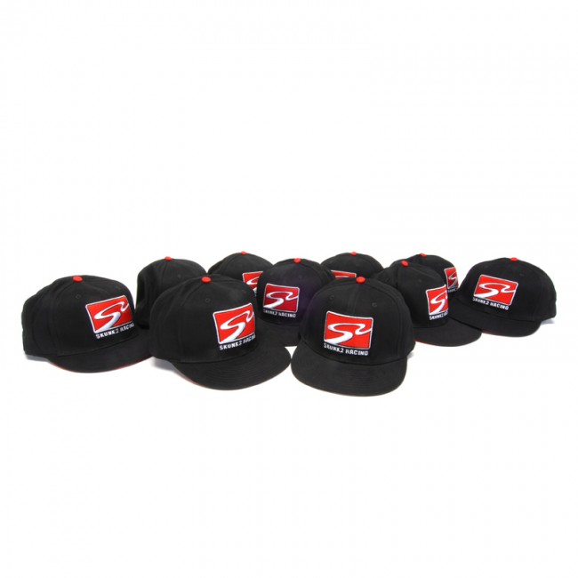 Skunk2 731-99-1502 Black Large//X-Large Cap with /'S2 Racetrack/' Logo