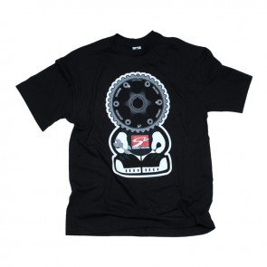 Black Series Gear Headz T-Shirt (Womens, Black, Medium)