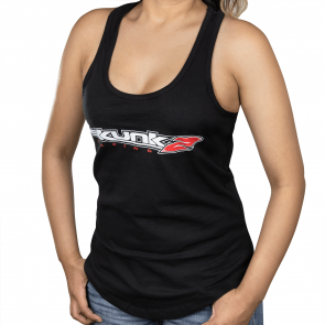 Ladies Go Faster Tank Top Small - Black