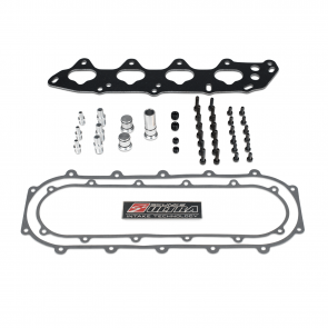 B Ultra Race Centerfeed Manifold Complete Assembly Hardware Kit