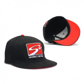 S2 Racetrack Cap (Black, Small / Medium)
