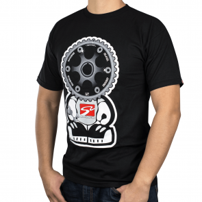 Black Series Gear Headz T-Shirt (Black, 2X-Large)