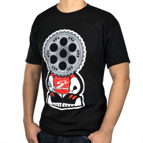 Gear Headz T-Shirt (Black, Medium)