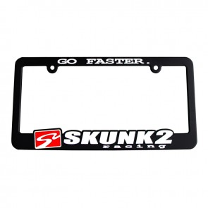 go faster license plate frame