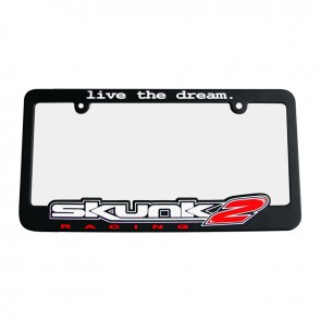 Live The Dream License Plate Frame