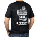 K-Power T-Shirt (Black, X-Large)
