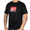 S2 Racetrack T-Shirt (Black, X-Large)