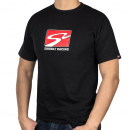 S2 Racetrack T-Shirt (Black, Large)
