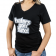 Ladies Haters Gon' Hate T-Shirt Small Black