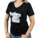 Ladies Haters Gon' Hate T-Shirt Medium Black