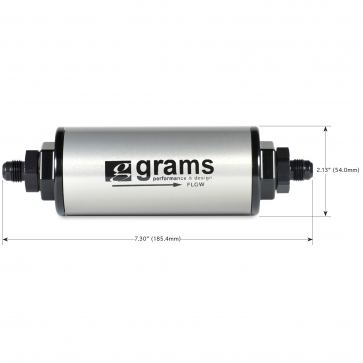 Fuel Filter - 100 Micron w/ -6 AN