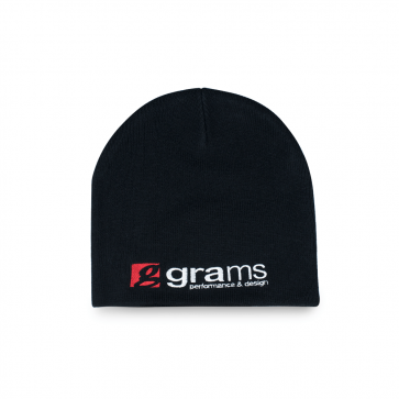 "Grams Performance ""Skully"" Beanie (Black)"