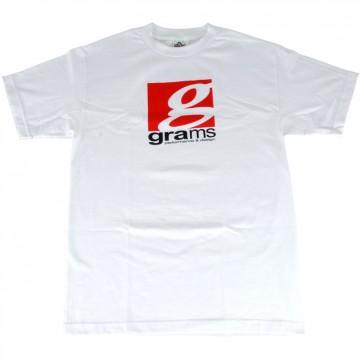 Grams Classic Logo T- Shirt (White)