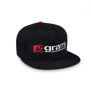 Grams Performance Cap (Black, Large/ Extra Large)