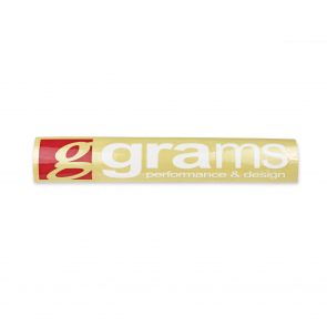 "Grams Logo 35"" Windshield Decal"
