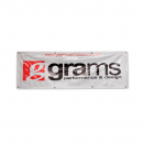 Grams Performance Banner (Silver)
