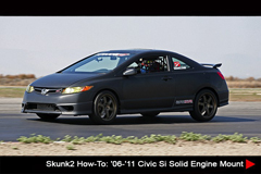 Resources - Skunk2 How-To: '06-'11 Civic Si Solid  Engine Mount