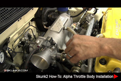 Resources - Skunk2 How-To: Alpha Throttle Body Installation