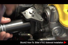 Resources - Skunk2 How-To: B-Series Billet VTEC Solenoid Installation