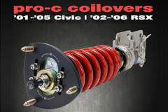 Resources - '02-'06 RSX, '01-'05 Civic Pro-C Coilovers